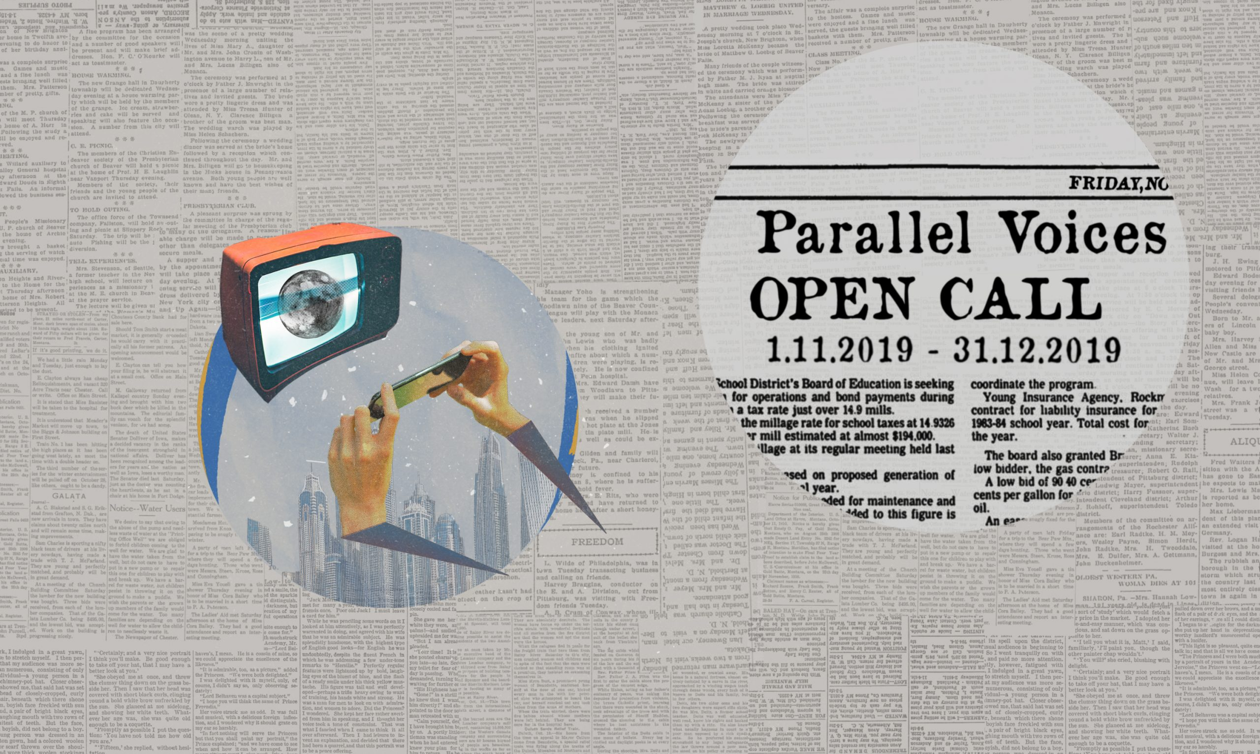 Parallel Voices 2020 - logo
