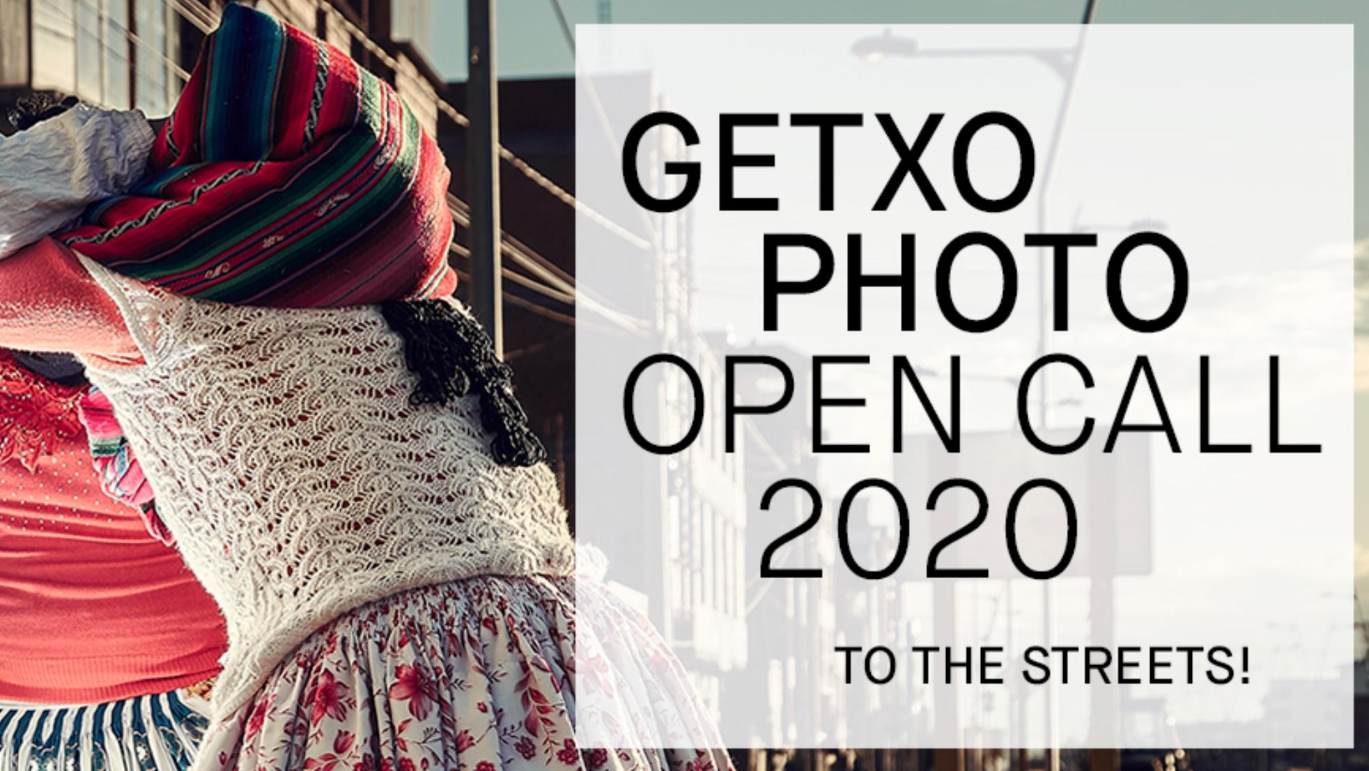 GETXOPHOTO Open Call 2020 - logo