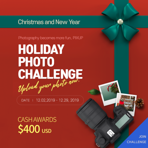 PIXUP Holiday Photo Challenge