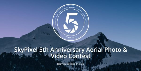 SkyPixel 5th Anniversary Aerial Photo & Video Contest