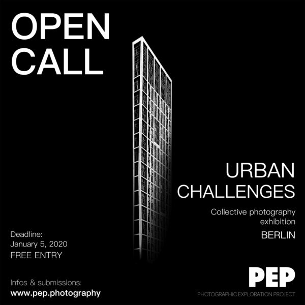 Urban Challenges – Take part in a photography exhibition in Berlin - logo