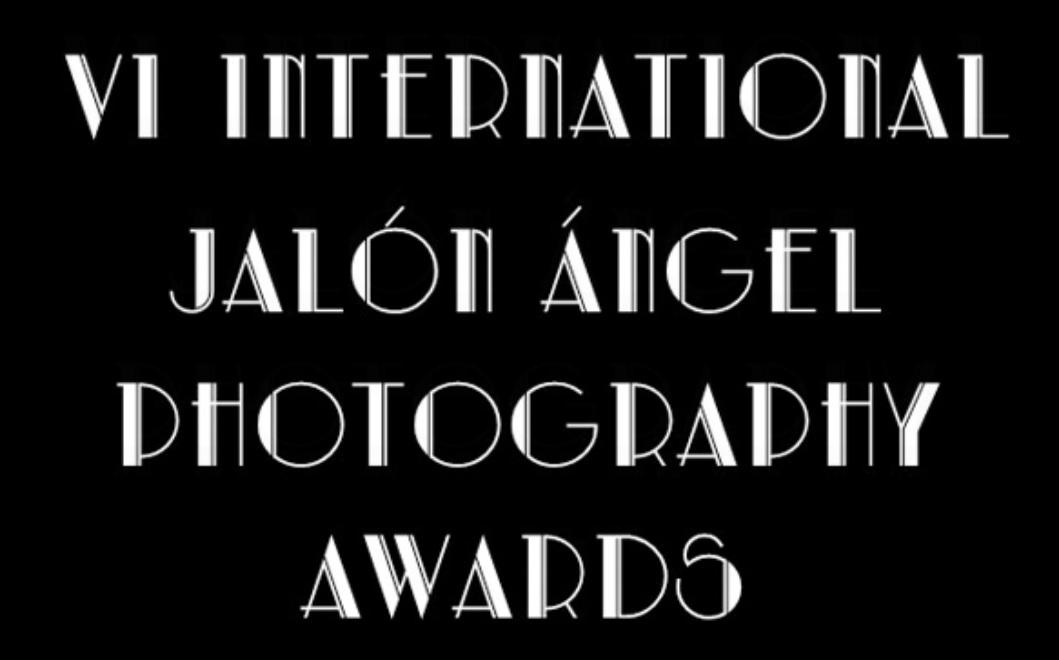 6th Jalón Ángel Photography Awards - logo