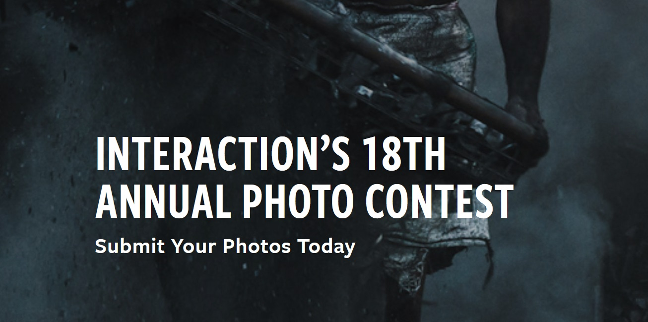 InterAction's 18th Annual Photo Contest 2020 - logo