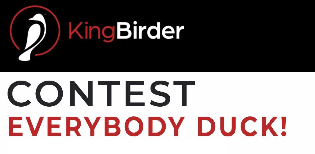KingBirder 2020 Everybody Duck Photo Contest - logo