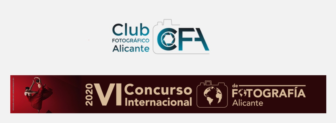 """Photo Contest """"Alicante"""" 2020 - logo"""