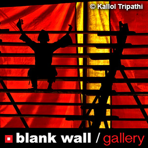 Red by Blank Wall Gallery - logo