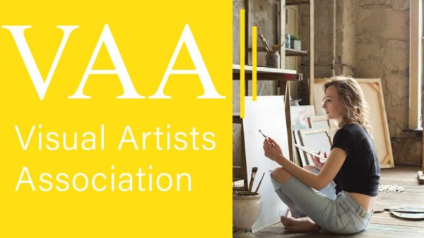 The Visual Artists Association Emerging Artists Award 2020 - logo