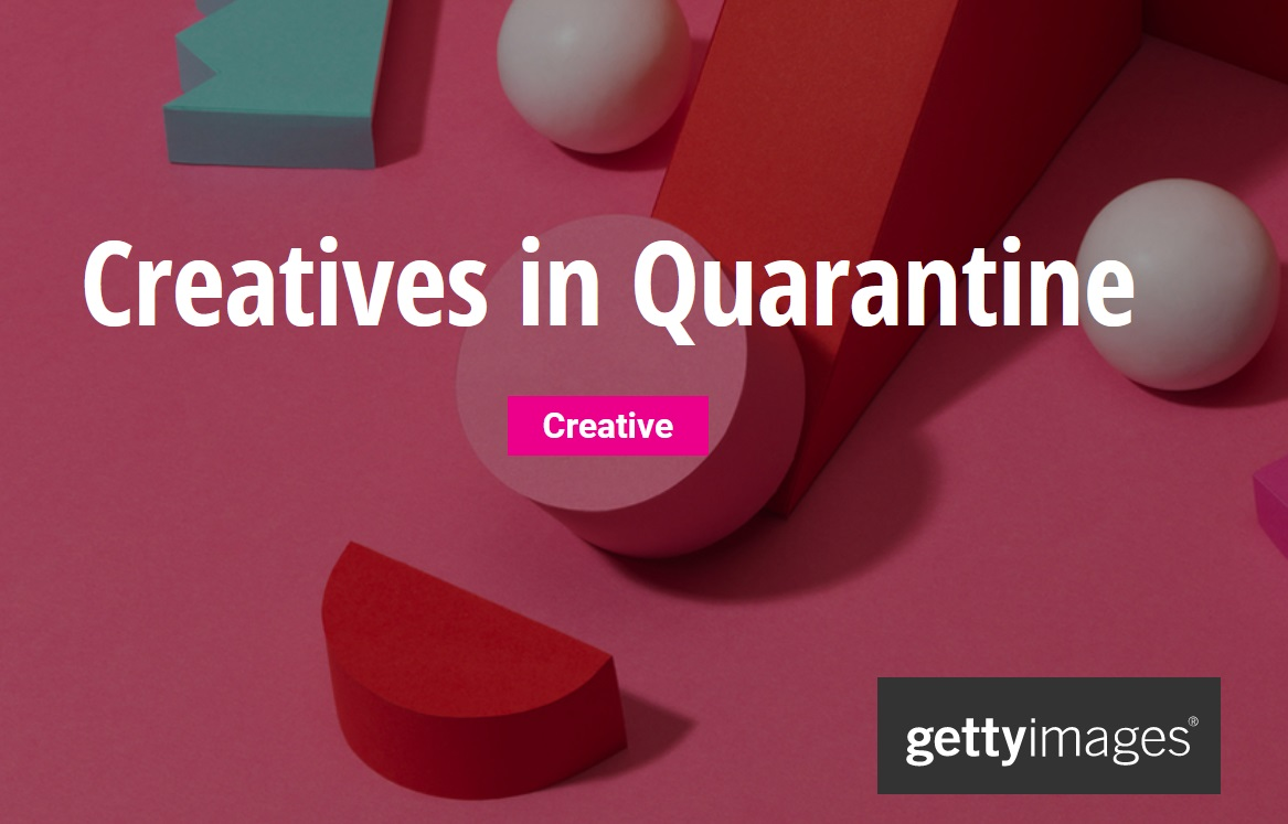 Getty Images: Creatives in Quarantine 2020 - logo