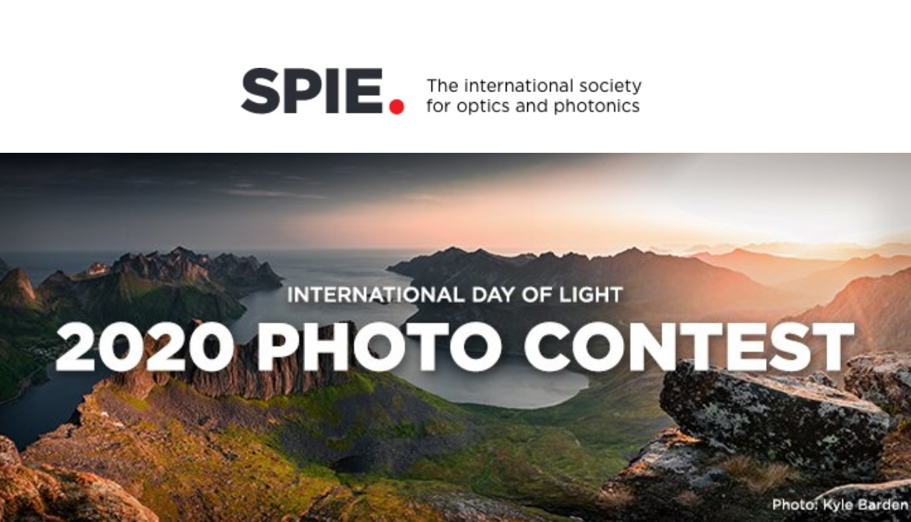 SPIE Annual International Day of Light Photo Contest - logo