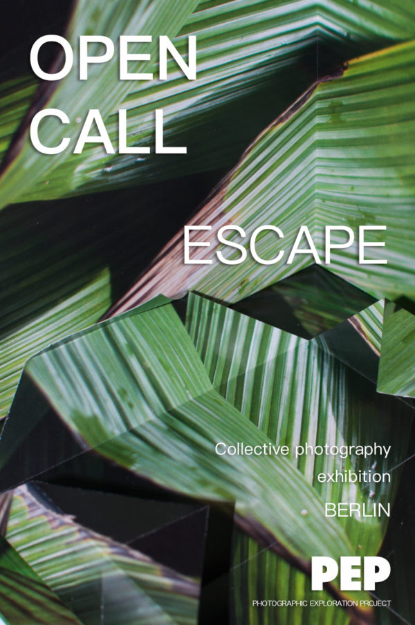 ESCAPE – take part in a photography exhibition in Berlin - logo