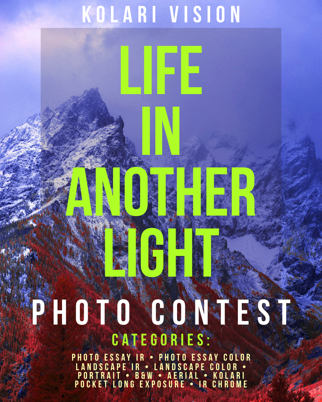 Life in Another Light Infrared Photography Contest 2020 - logo