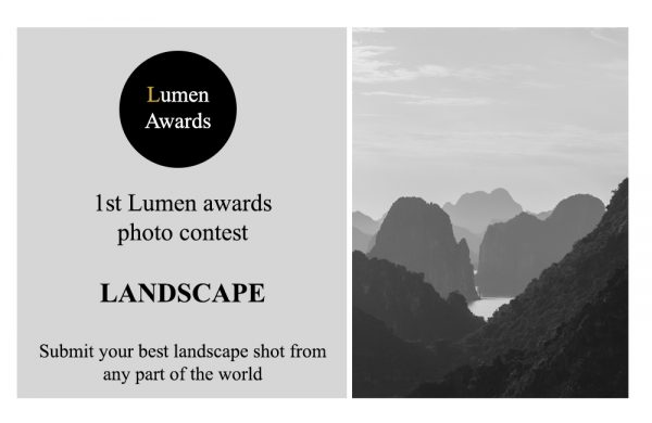 Lumen Awards Landscape Contest 2020