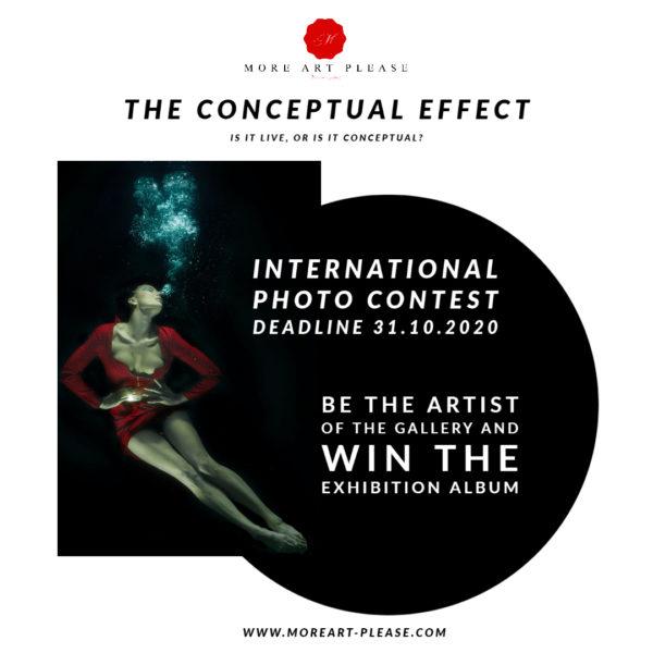 MORE ART PLEASE: CONCEPTUAL - logo