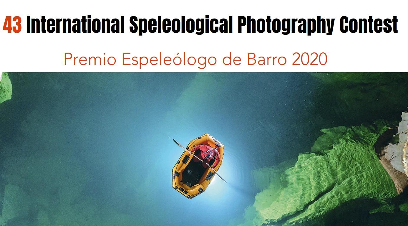 43 International Speleological Photography Contest - logo