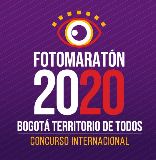 Fotomaratón 2020 – Bogotá territorio de todos - logo