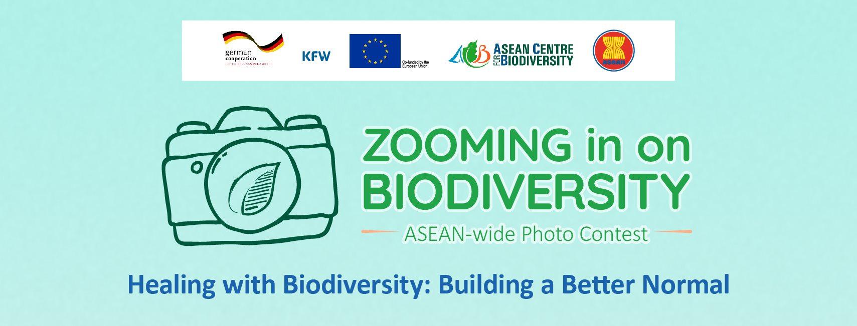 Zooming in on Biodiversity 2020 - logo