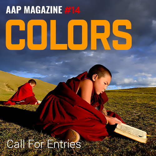 AAP Magazine#14: Colors - logo