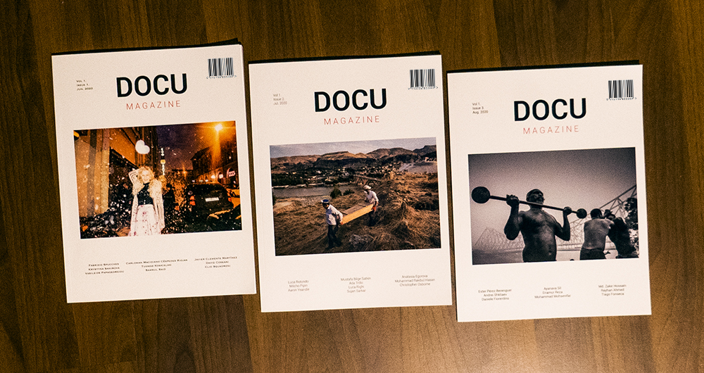 Docu Magazine: Open call for documentary photographers 2020 - logo