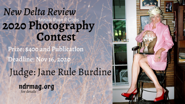 New Delta Review's Annual Ryan R. Gibbs Photography Contest - logo