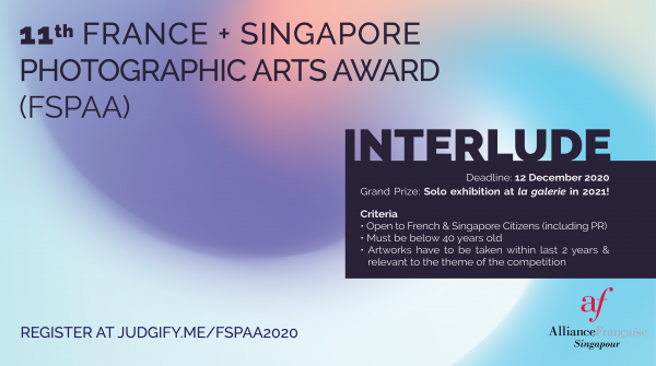 11th France + Singapore Photographic Arts Award