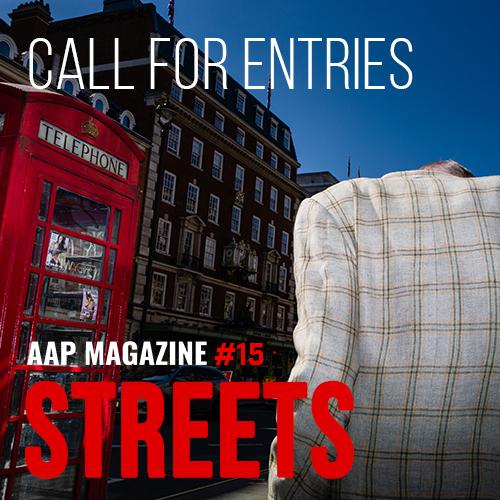 AAP Magazine#15: Streets - logo