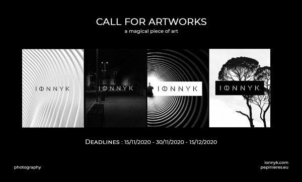 Call 2020 | IONNYK – photographic art, digital, black & white (INT)