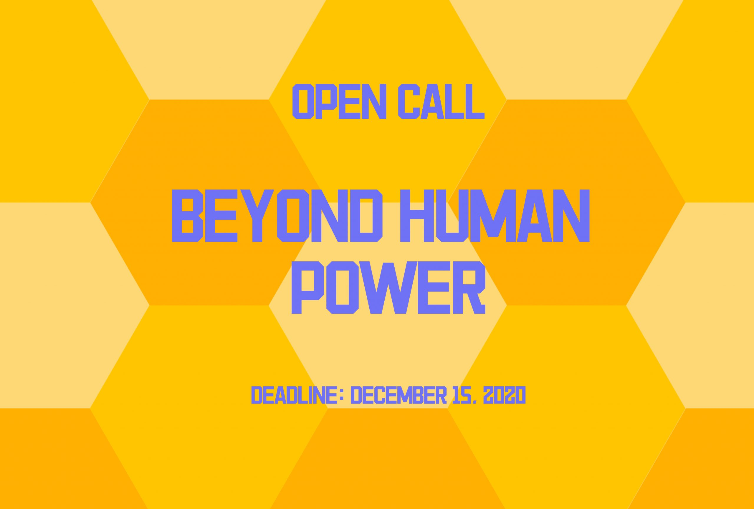 BEYOND HUMAN POWER 2020 - logo