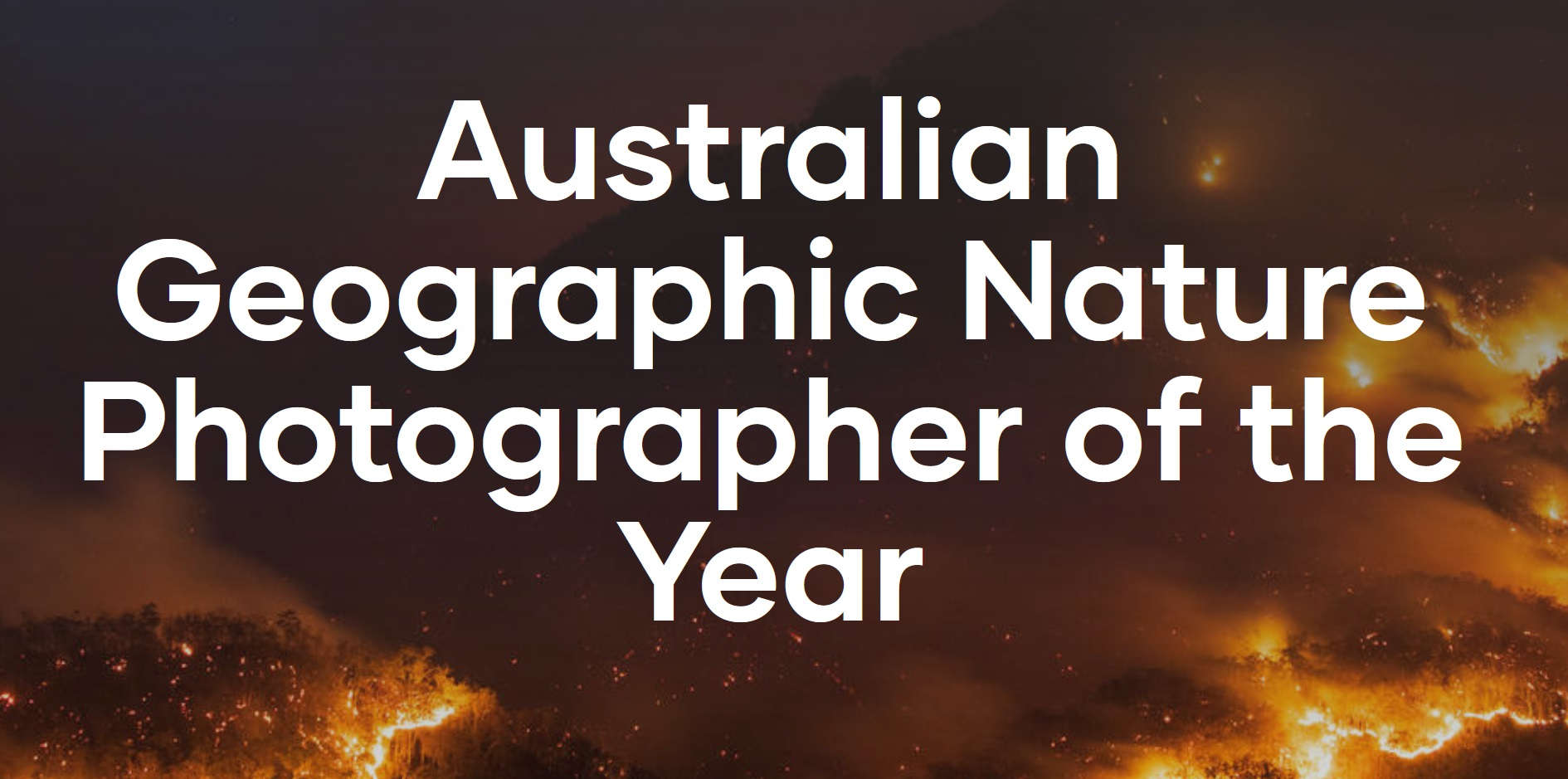 Australian Geographic Nature Photographer of the Year 2021 - logo
