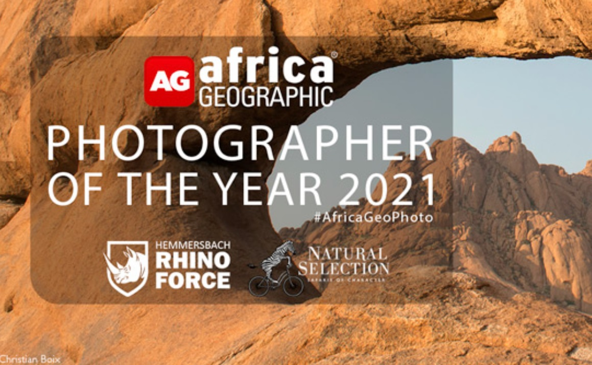 Africa Geographic Photographer of the Year 2021 - logo