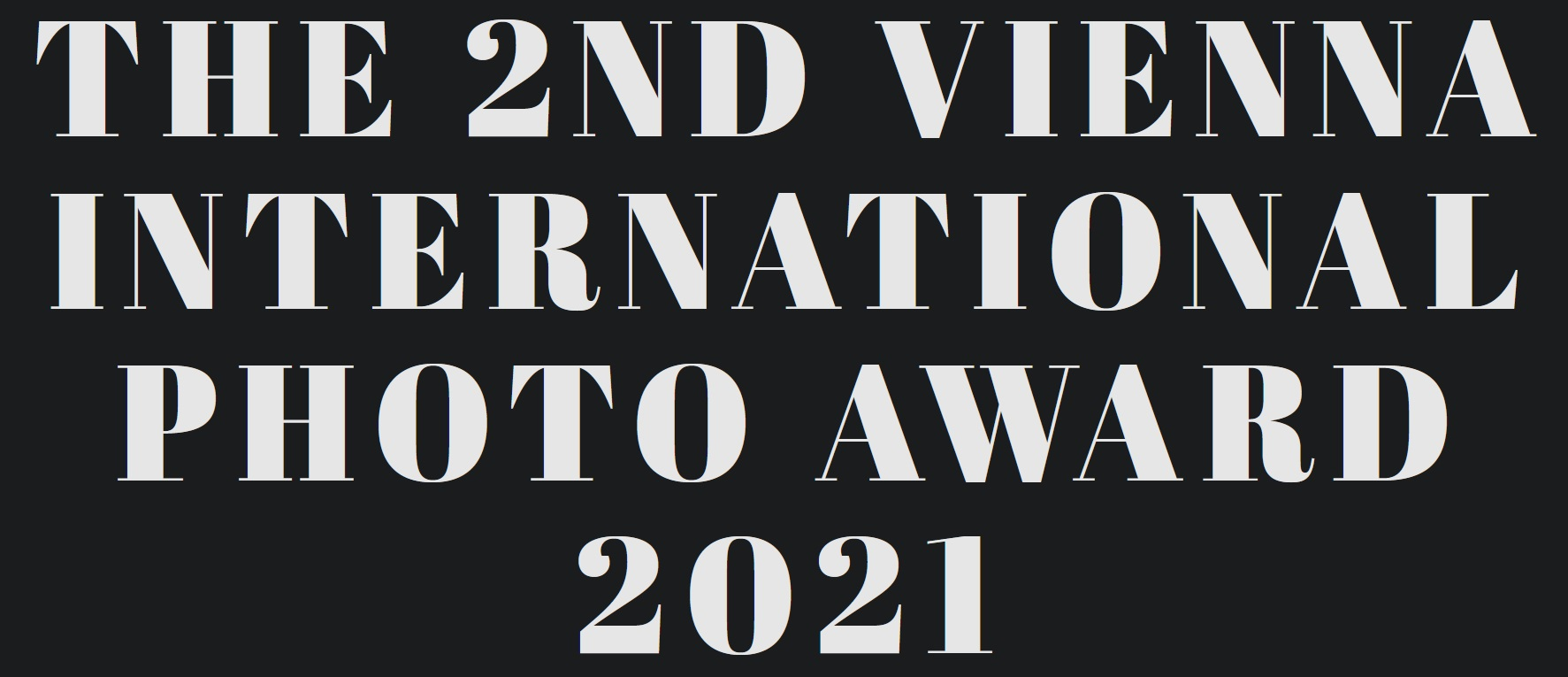2nd VIENNA INTERNATIONAL PHOTO AWARD 2021 - logo