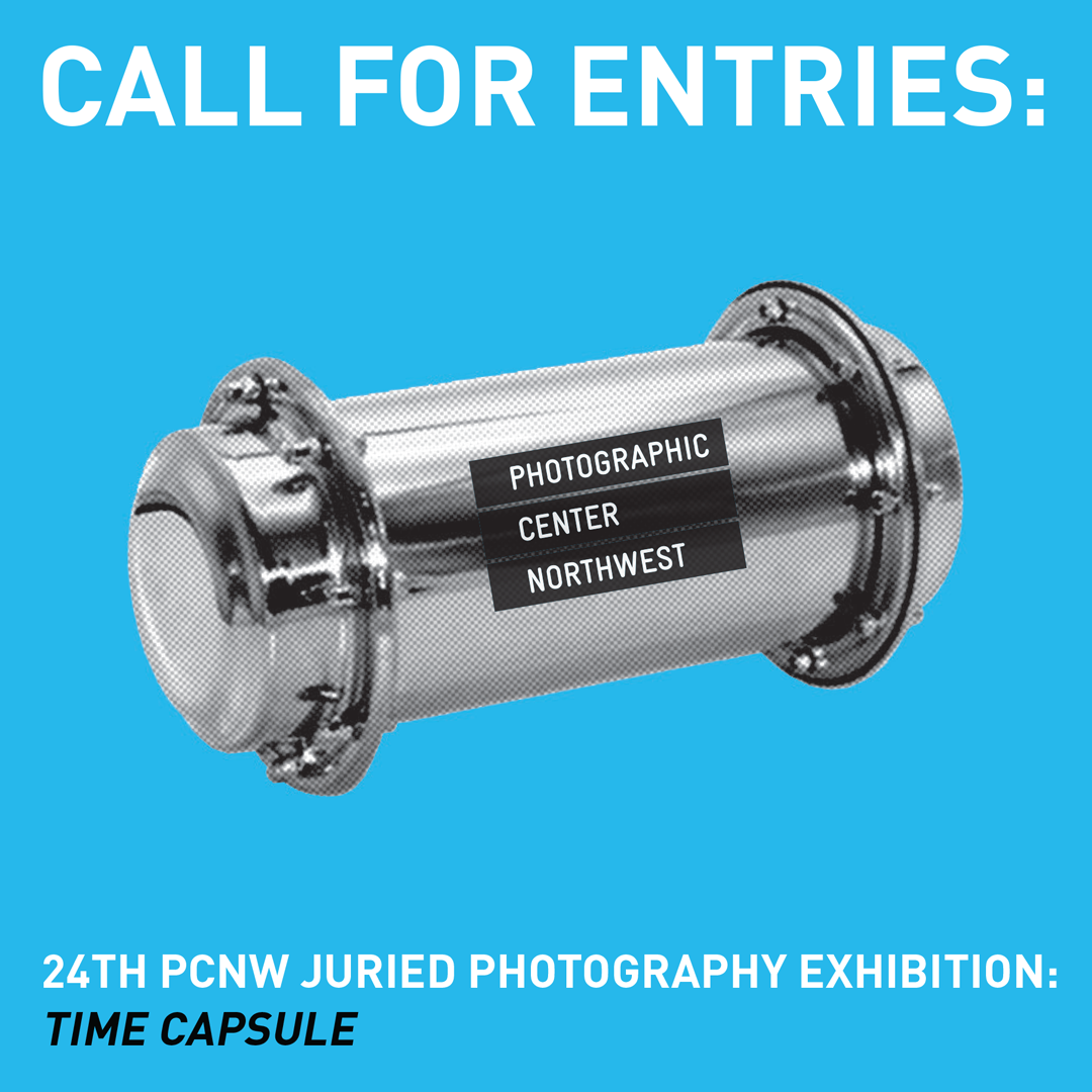 PCNW's 24th Annual Juried Exhibition, Time Capsule - logo