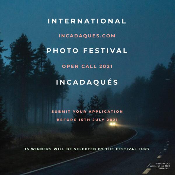 INCADAQUÉS PHOTO FESTIVAL OPEN CALL 2021 - logo