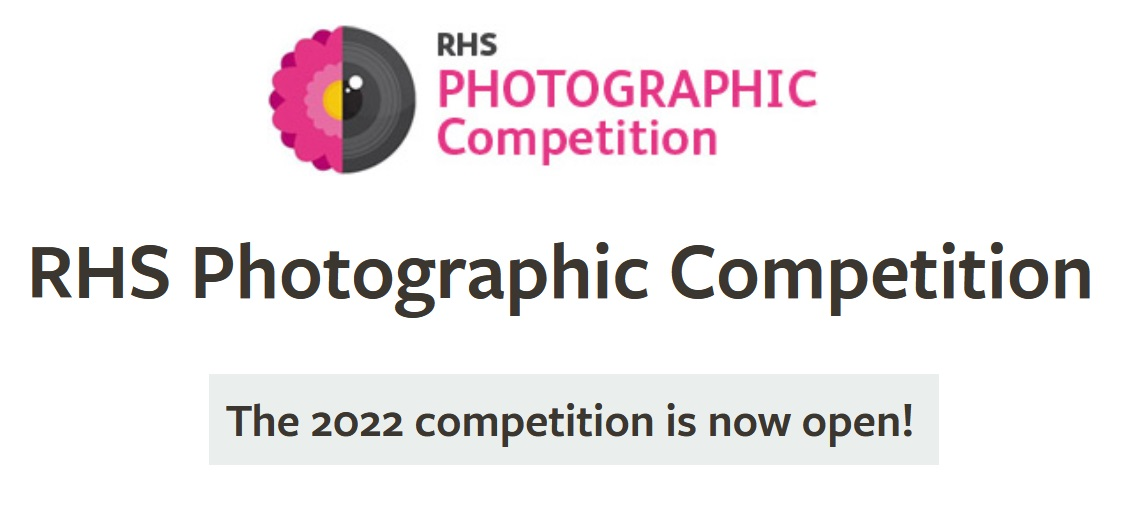 RHS Photographic Competition 2022 - logo