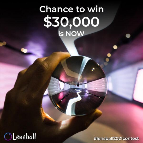 Lensball International Photo Contest 2021 - logo