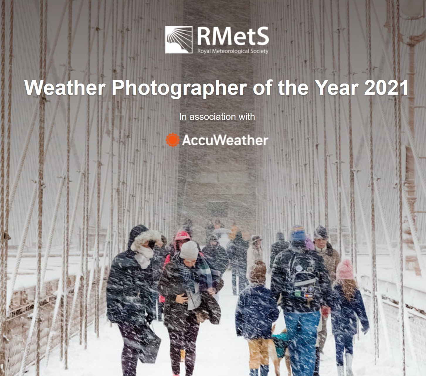 Weather Photographer of the Year 2021 - logo