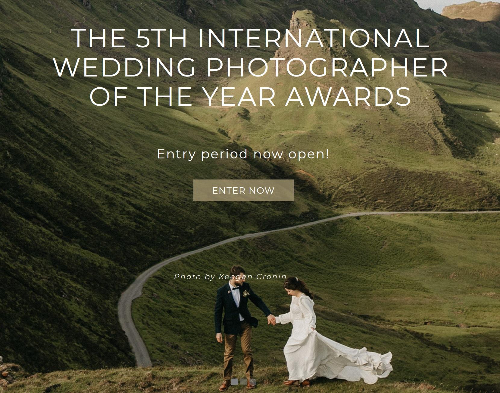 International Wedding Photographer of the Year Awards (IWPOTY) 2021 - logo