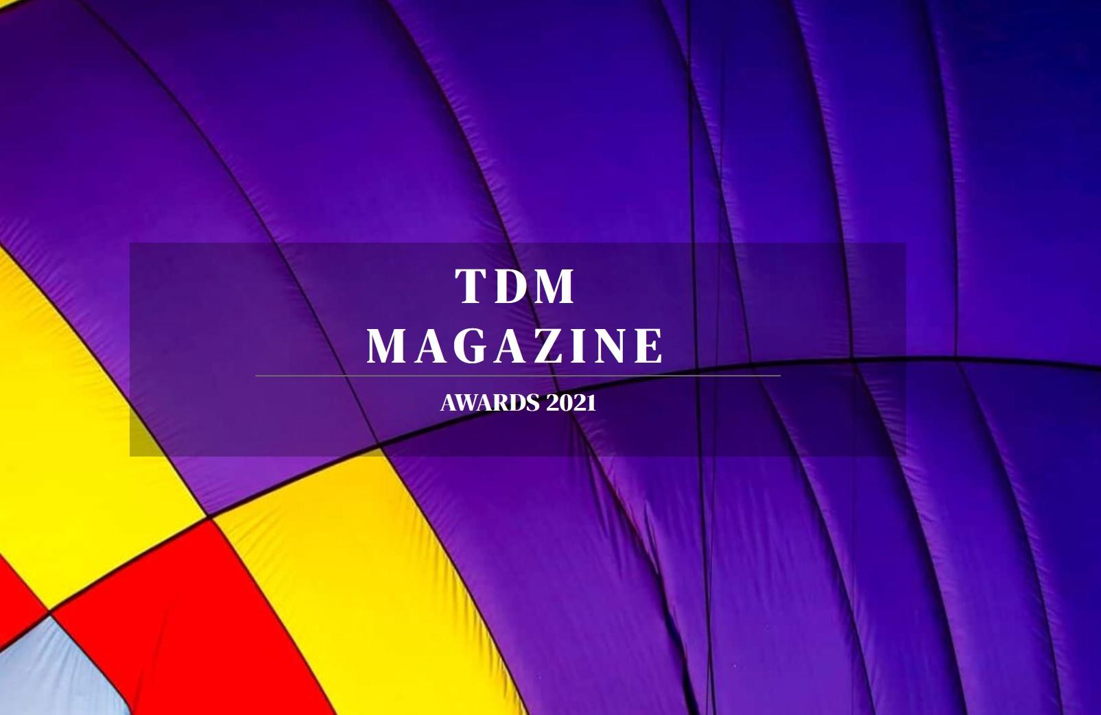 TDM Awards 2021 - logo