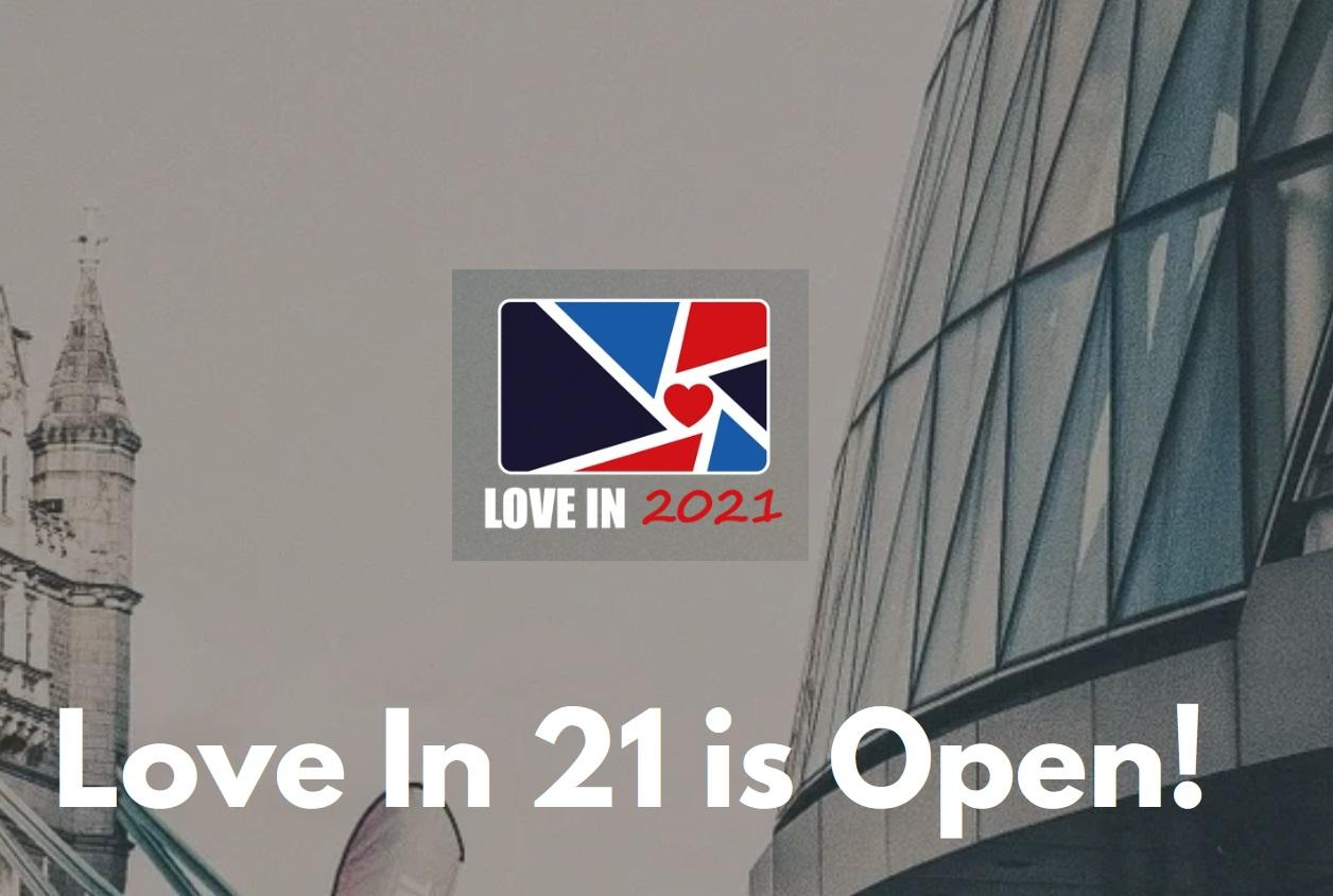 Love In 2021 - logo