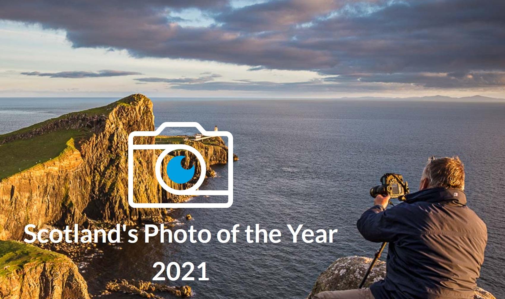 Scotland's Photo of the Year 2021 - logo