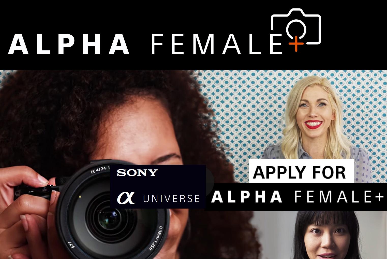 Sony Alpha Female + Grant 2021 - logo