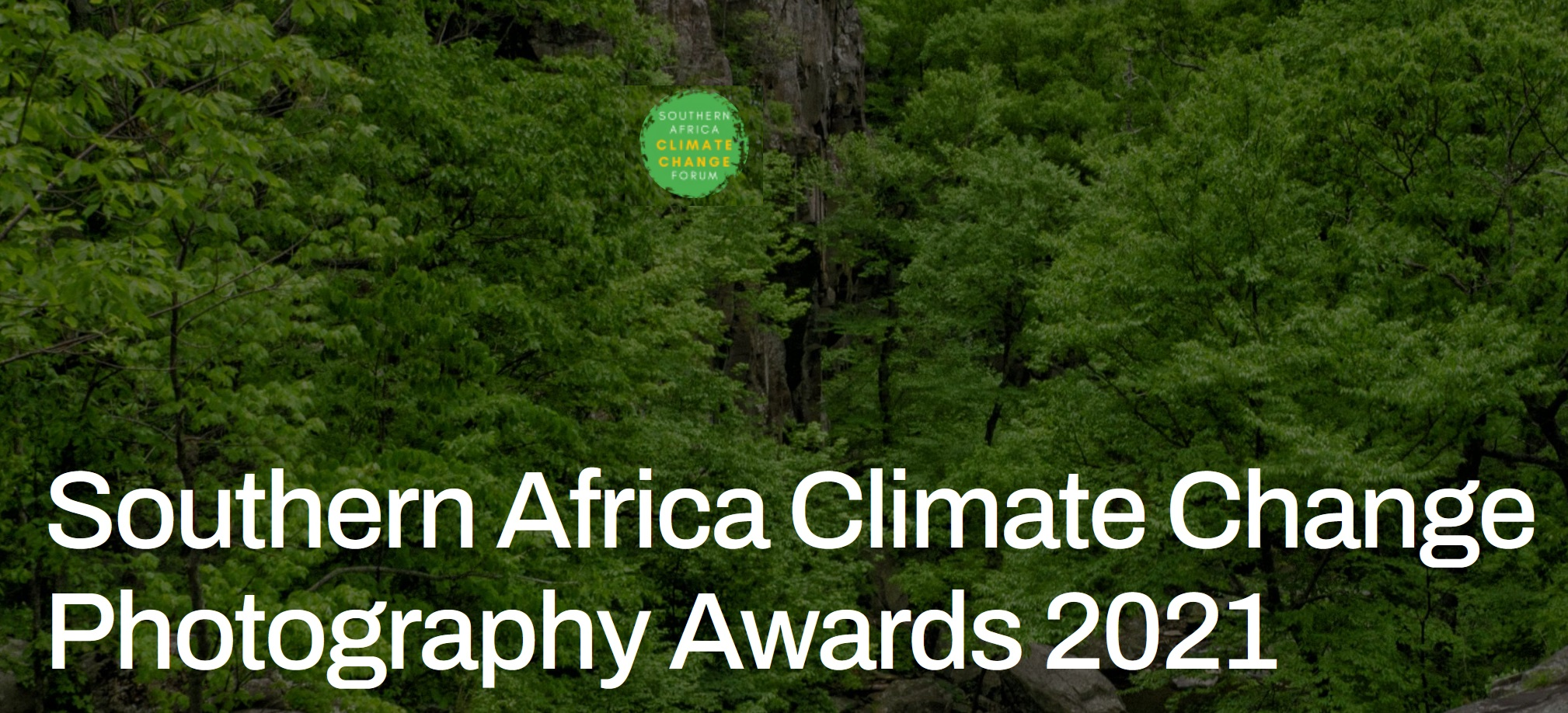 Southern Africa Climate Change Photography Awards 2021 - logo