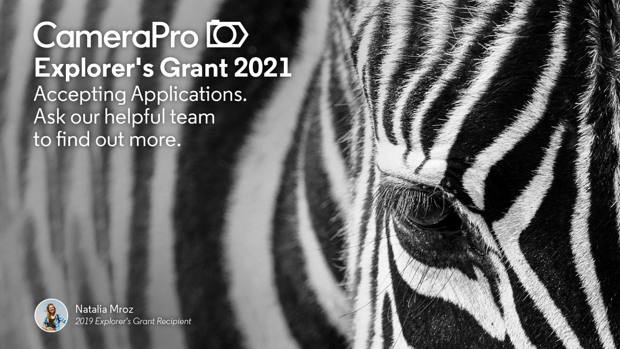 2021 CameraPro Photography and Videography Grant - logo