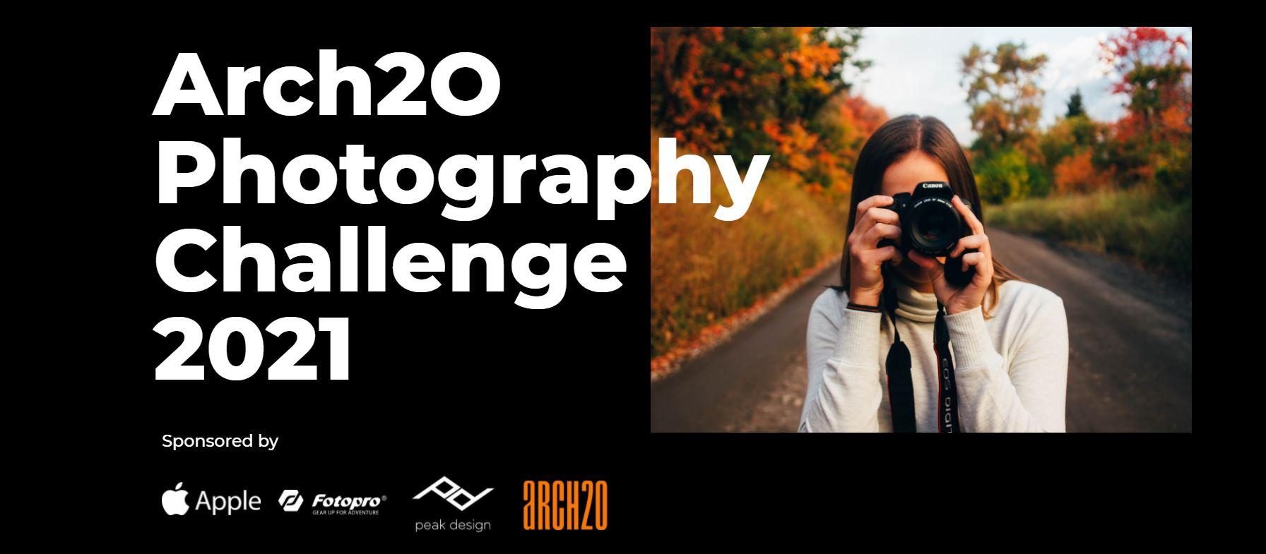 Arch2O Photography Challenge 2021 - logo