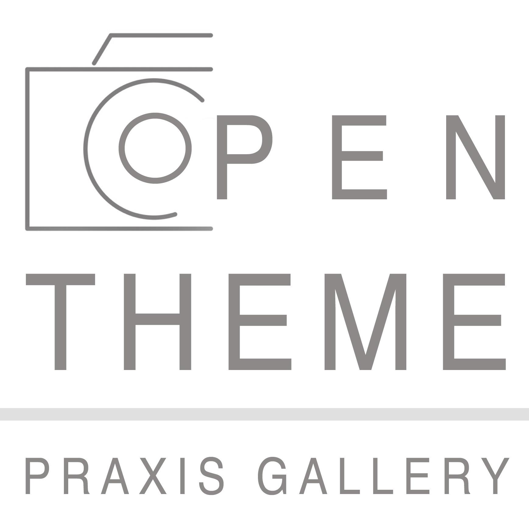 Praxis Gallery: OPEN THEME - logo